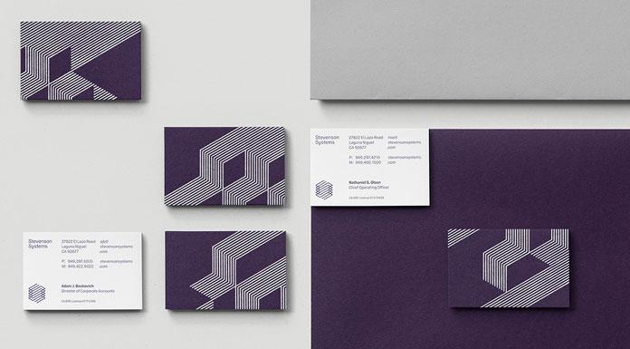 Branding materials.