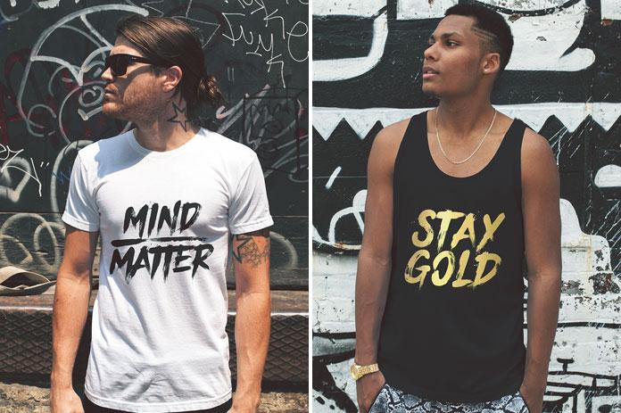 Create stylish t-shirts and more.