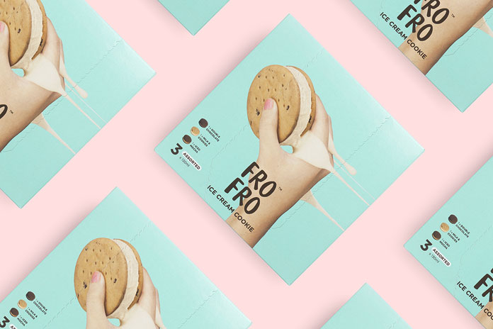 Simple yet catchy brand and packaging design.