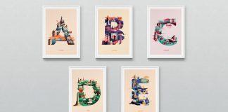 Jack Daly's Wanderlust Alphabet A – E