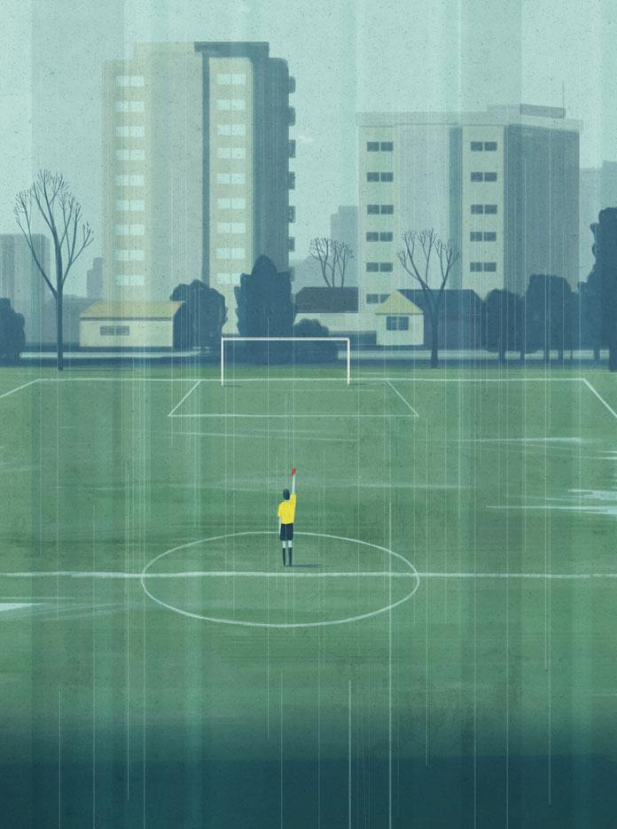 My life as football referee.