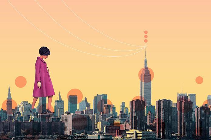 New York City Skyline Redesigned