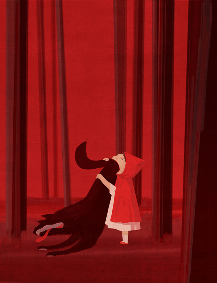 Red Riding Hood 2.0 – Telling stories from a different prospective.
