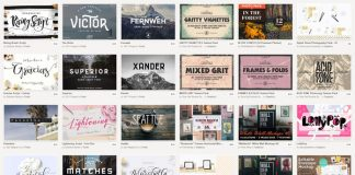 September Big bundle of graphic products from Creative Market.