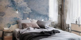 Watercolor wallpapers from Murals Wallpaper.