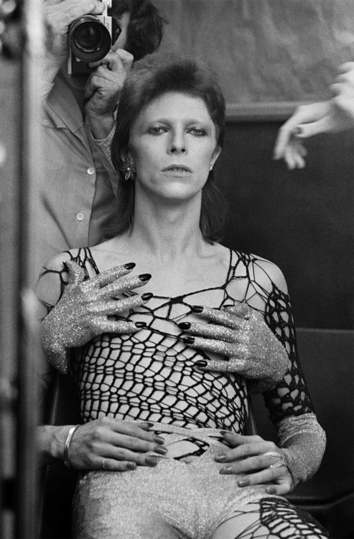 Ziggy Stardust backstage by Terry O'Neill.
