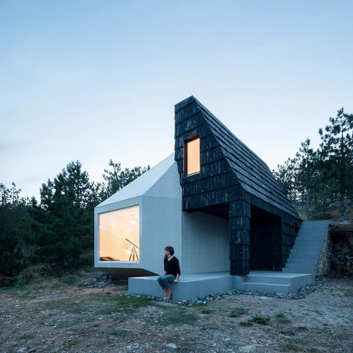 Divcibare mountain home by EXE studio.