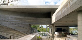 Modern concrete residence by Renato D'Ettorre Architects on Hamilton Island.