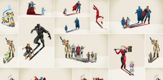 Super Shadows 2 – Illustrations by Jason Ratliff.