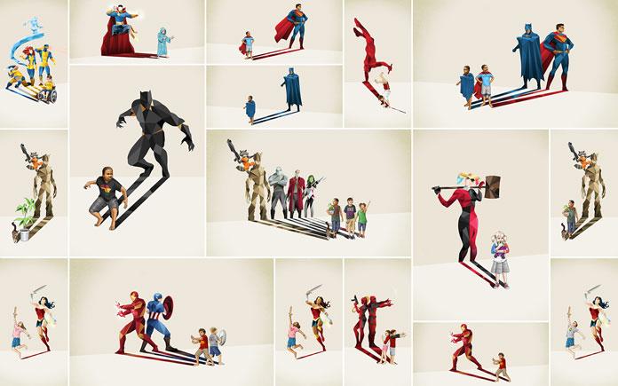 Super Shadows 2 – Illustrations by Jason Ratliff.