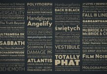 Versatile font family with 9 stylistic sets plus italics.