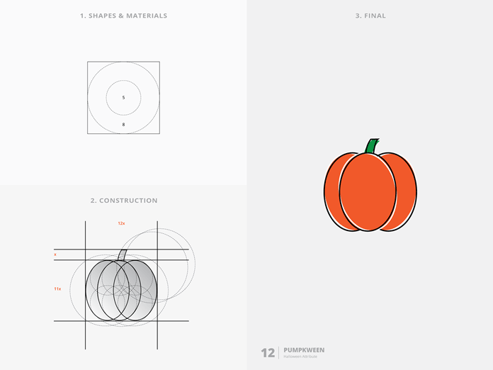 Pumpkween – Halloween Attribute