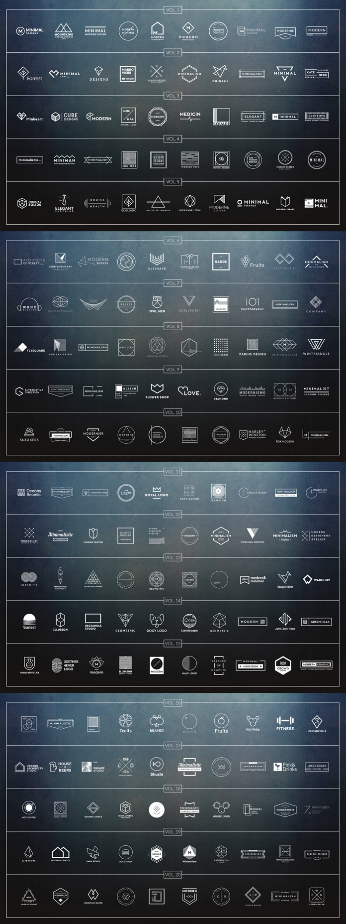 Get 1000 Logos and Badges