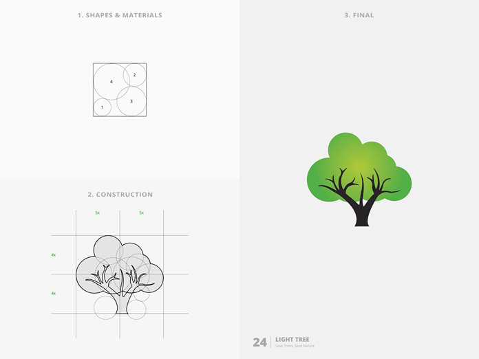 Light Tree – Save Trees, Save Nature