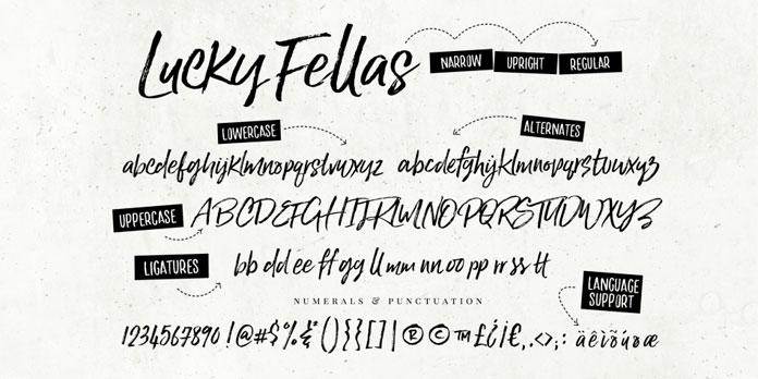 Some typographic features.