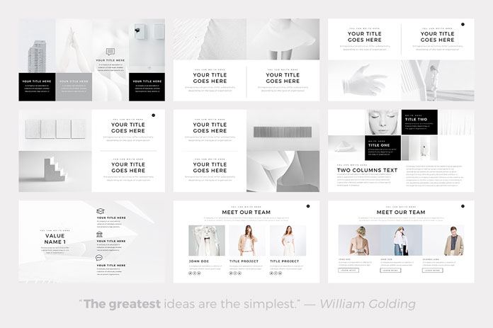 minimalist powerpoint template - gse.bookbinder.co, Modern powerpoint