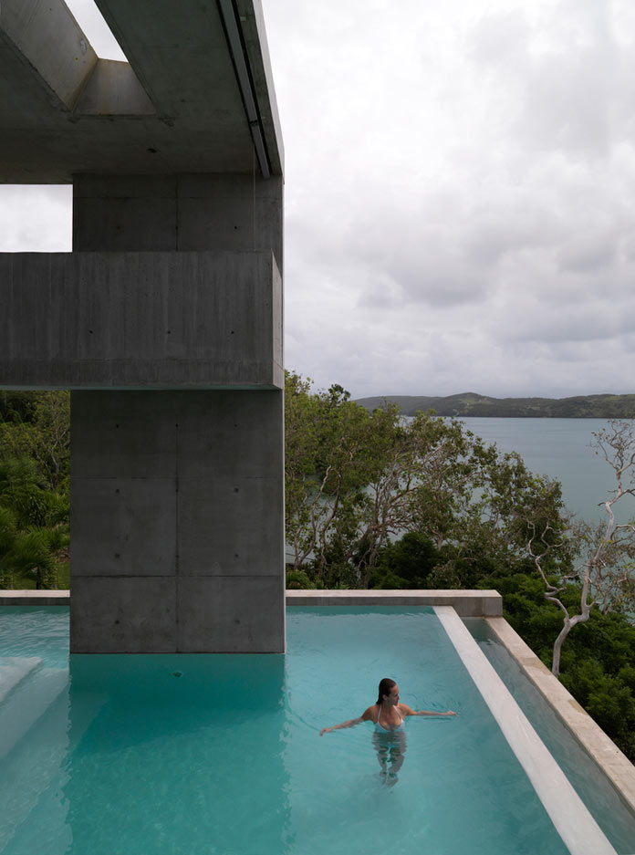 Hamilton island residence by renato d ettorre architects for Pool design hamilton