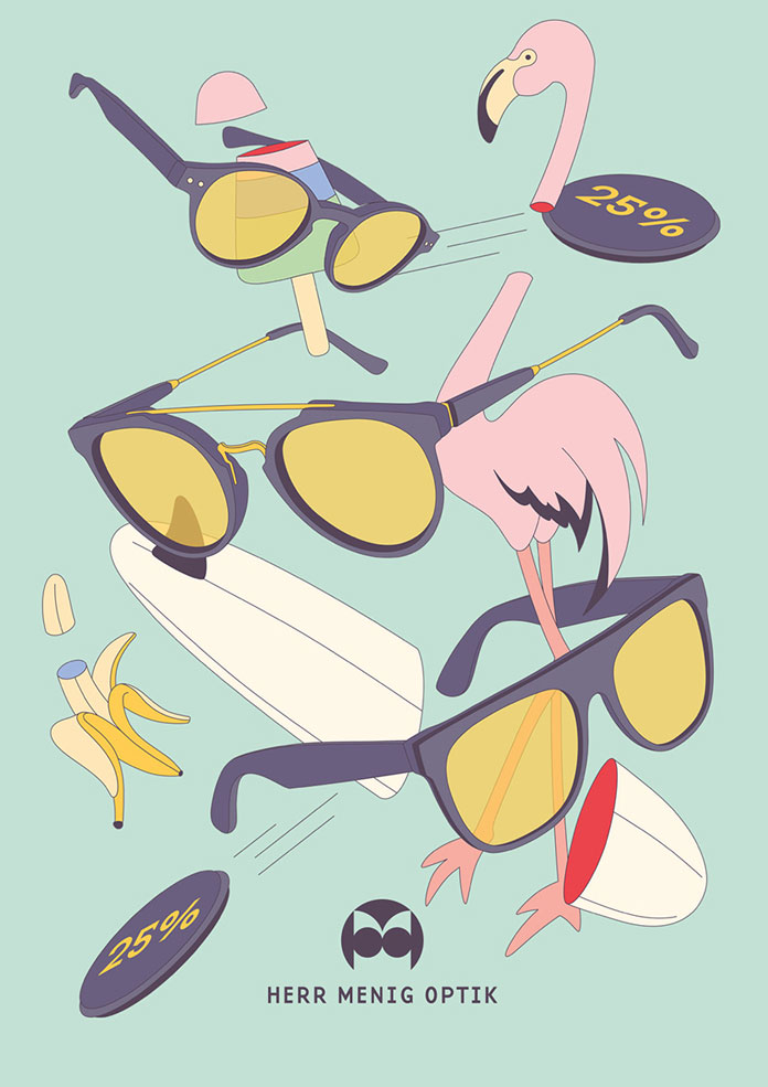 25 percent off of all sunglasses.