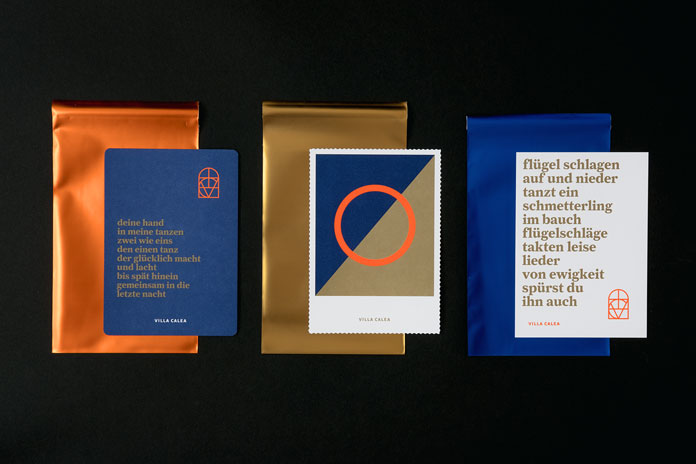 Unique printed collateral and communication design.