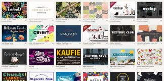 Graphics, fonts, images, templates, mock-ups.