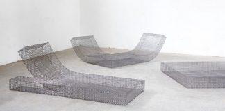 Lounger collection Wire S by studio Muller van Severen.