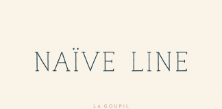 Naive Line Font Pack from La Goupil Paris.