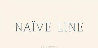 Naive Line Font Pack from La Goupil Paris.