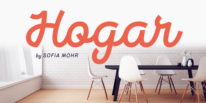 Hogar font family from Latinotype.
