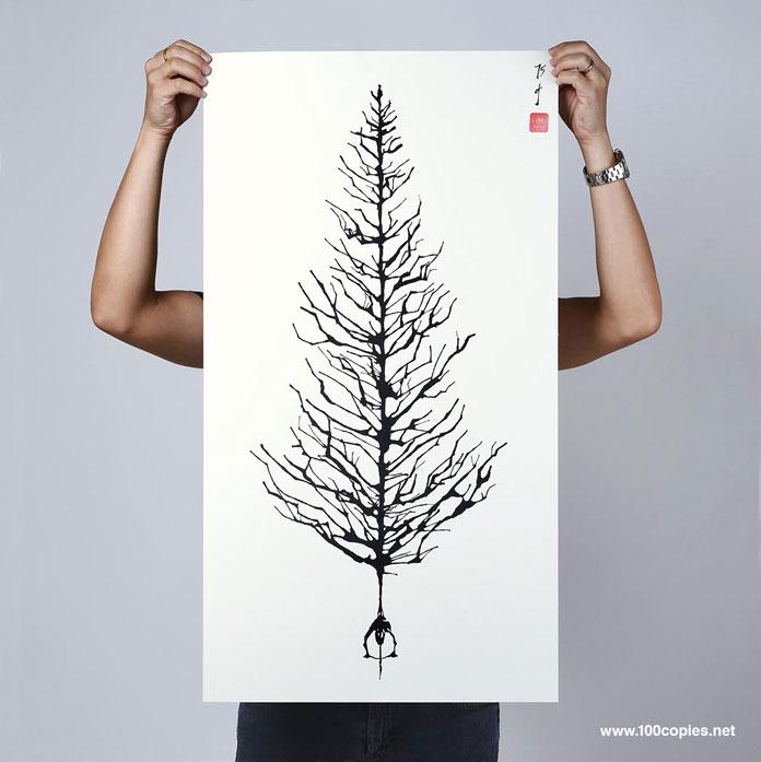 Tree of Joy by Thomas Yang of 100copies.