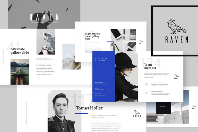 8 keynote presentation templates the raven template pronofoot35fo Choice Image