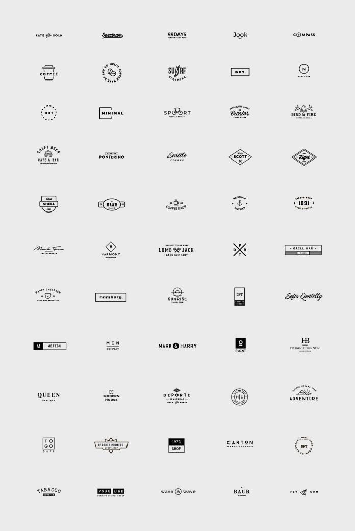 55 Logo Templates