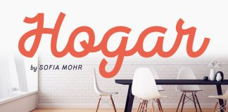 Hogar font family from Latinotype