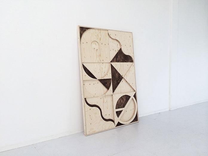 A large work from 2014. Soiland wood assembled as final result of De Torenkamer residency.