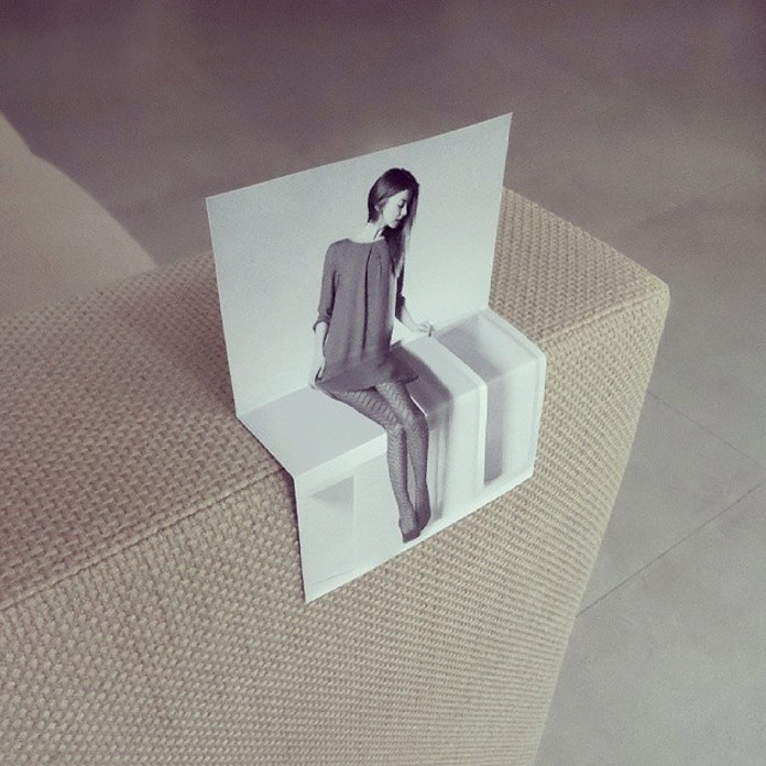 Take a seat – playful images by Dudi Ben Simon.