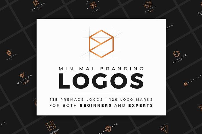 Minimal branding logos pack by Davide Bassu.