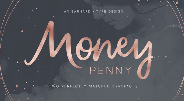 Money Penny fonts by Ian Barnard.