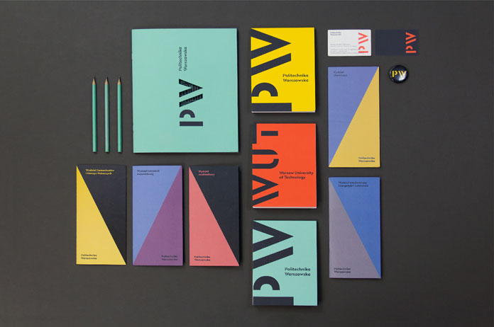 Warsaw University of Technology – visual identity by Podpunkt.