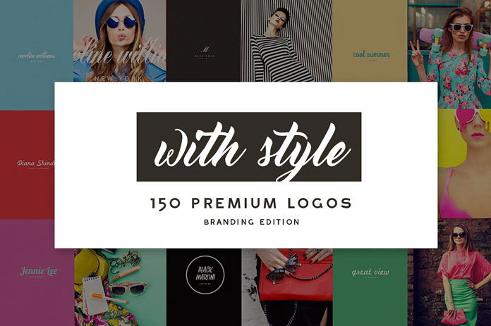 150 editable logos – branding edition from Design District.