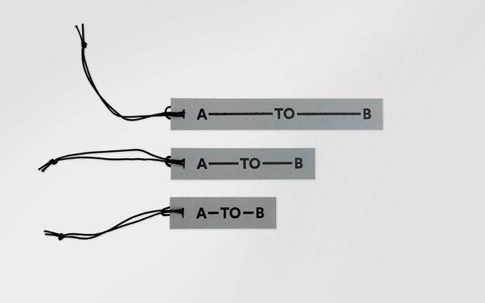 Hang tags.