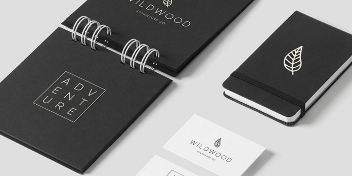Stationery design.