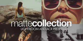 Adobe Lightroom matte collection.
