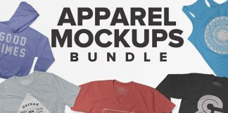 Apparel mockups bundle