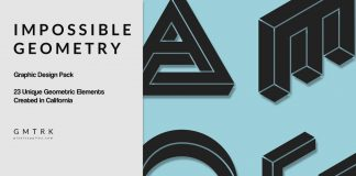 Impossible Geometry – surreal graphic design pack.