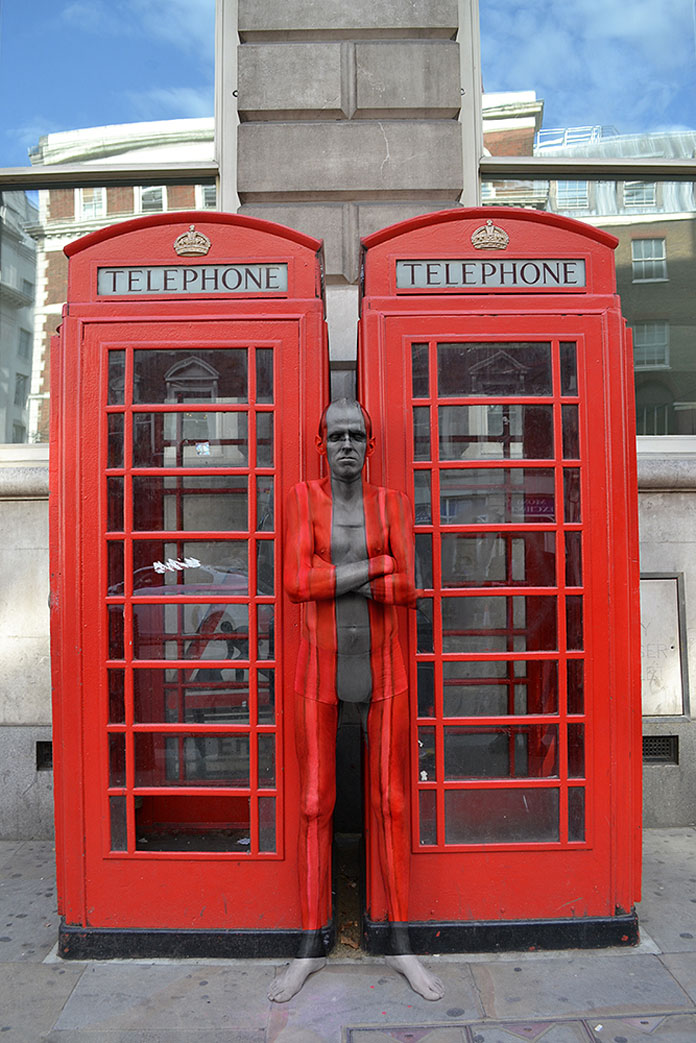 Phone Boxes from the England series.