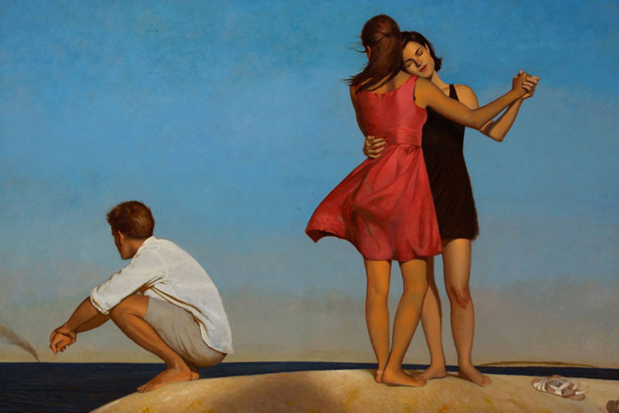 The Light Years, Bo Bartlett, oil on linen, 80 x 100, 2011