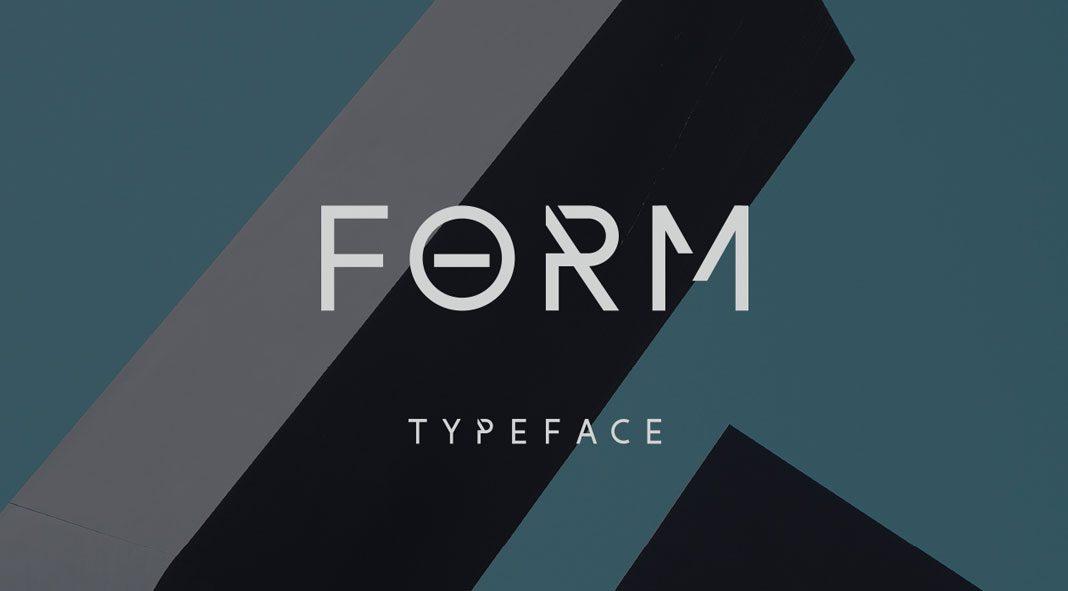 Form – Free Font