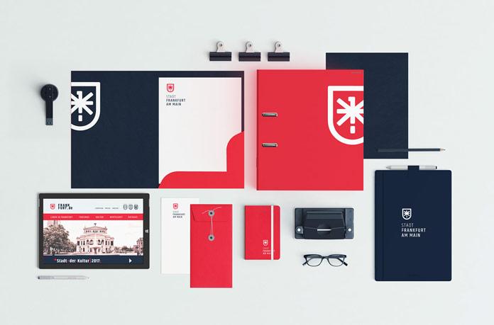 Frankfurt am Main – city identity redesign concept by Gregor Ivanusic.