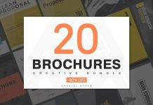 20 creative brochure templates.