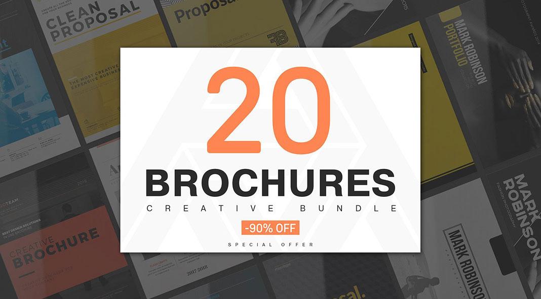 20 creative brochure templates