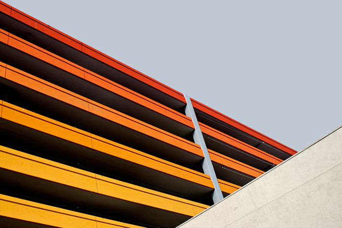 Minimalist architecture captured in and around LA.